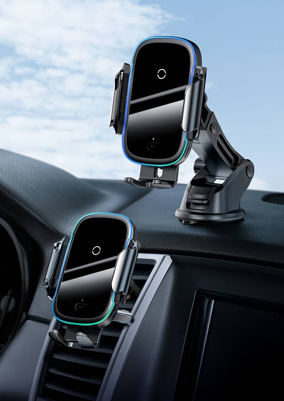 15 W Wireless Car Charger with Suction Mount